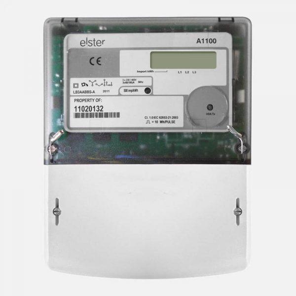 Elster three phase electrical generation meter U Solar Shop UK