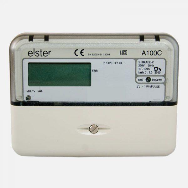 Elster Residential Electrical Generation Meter A100C U Solar Shop UK