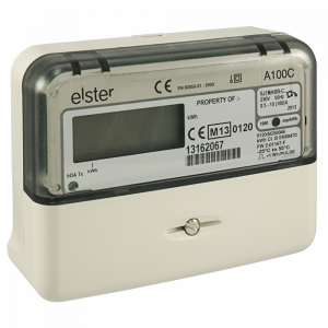 Elster Residential Electrical Generation Meter A100C U Solar Shop UK